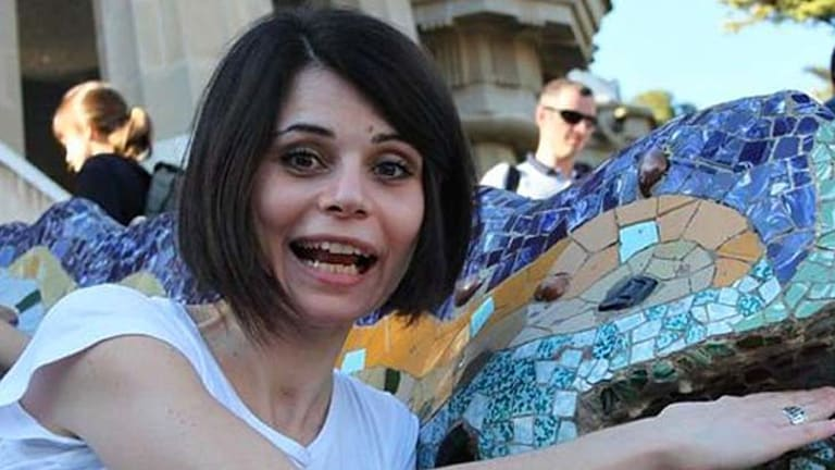 Jelena Lecic ... the Croat living in London says the Gay Girl in Damascus blog has been carrying a picture of her.