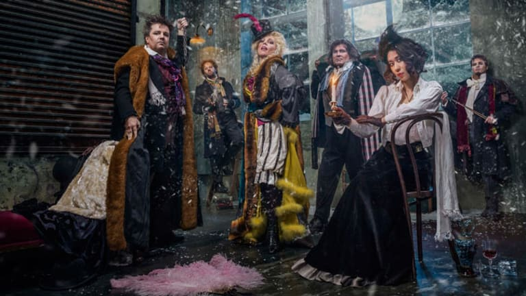 The cast of Opera Queensland's epic 2014 production of <i>La Boheme</i>, which will tour the state from July to September.