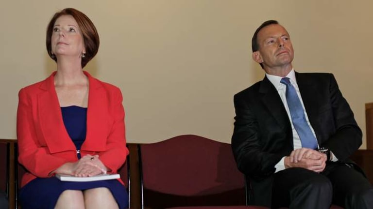 Like Gillard, Abbott seems determined to ignore the intense strategic confrontation today between Japan and China.