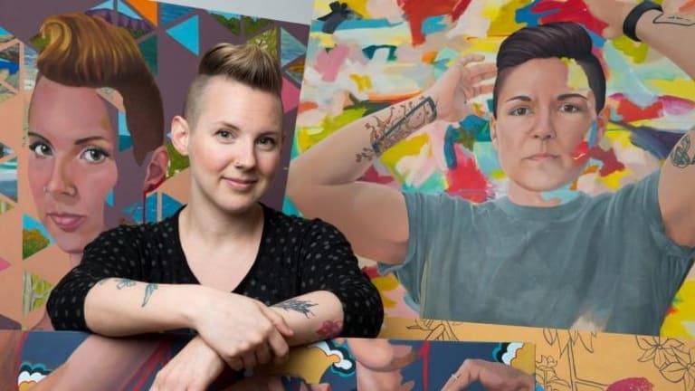 "Artist Kim Leutwyler says artist-run The Other Art Fair has a""different dynamic"" from gallery-dominated fairs."