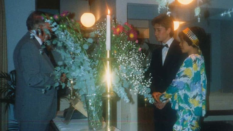 Helen Liu and David Schultz's wedding in King's Cross.