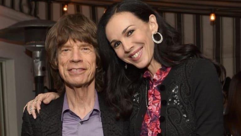Insurance turned down: Mick Jagger with girlfriend L'Wren Scott.