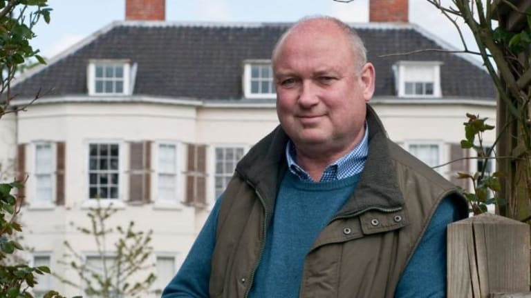Louis de Bernieres says if you've got fame and money and it can be hard to tell who your friends are.