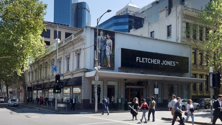 The former Fletcher Jones CBD site bought by a Malaysian investor.