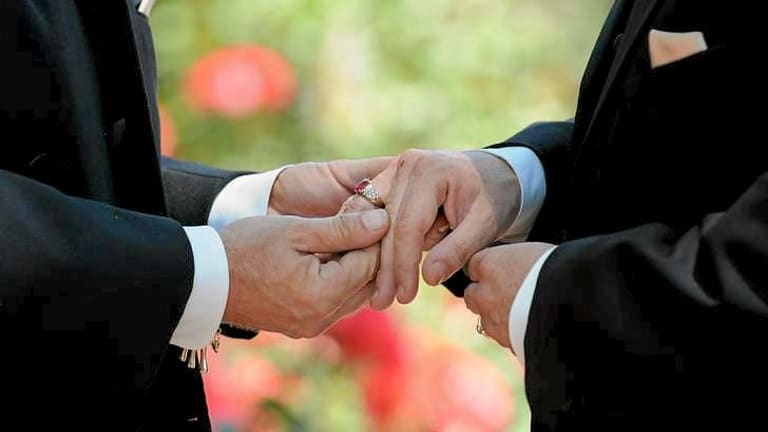 Liberal Party polling found that 72 per cent want same-sex marriage legalised, while 77 per cent think Coalition MPs should be granted a conscience vote on the matter.