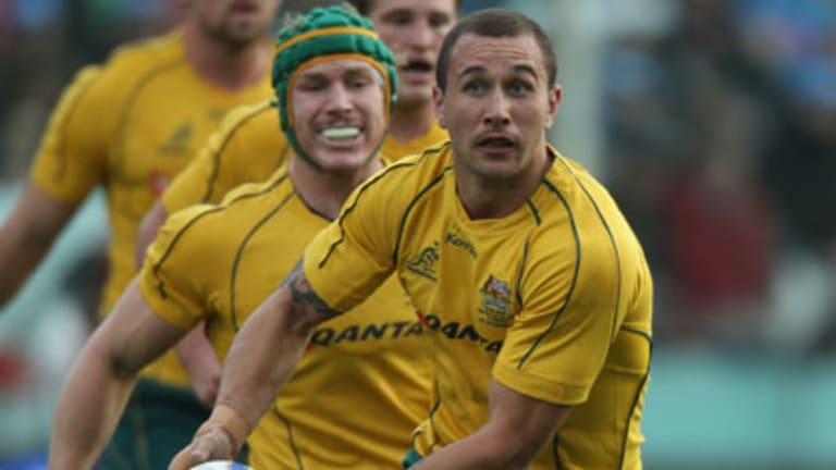 Maverick Quade Cooper ... ''the best to have at the helm of a fantasy team when no tackling is required''.