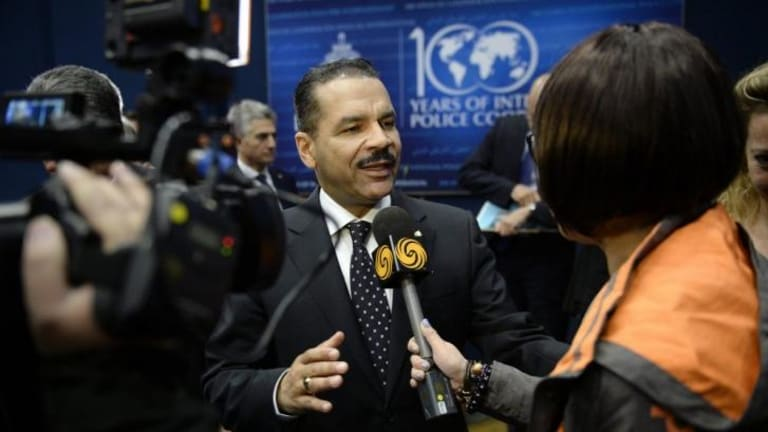 Interpol's Ronald Kenneth Noble says he is moving away from terrorist connection to false passport holders.