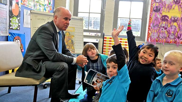 Raising the bar ... NSW Education Minister Adrian Piccoli wants to increase minimum entry scores for teaching.
