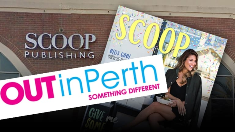 OUTinPerth announced its closure just days after Scoop closed its doors too.