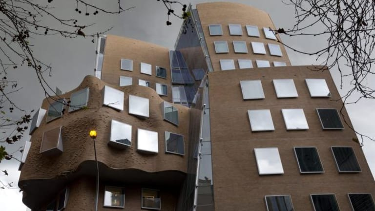 The Dr Chau Chak Wing Building at UTS, designed by Frank Gehry.