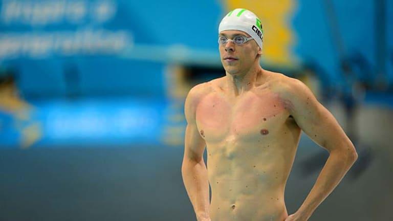 Brazil's world record holder ... Cesar Cielo.