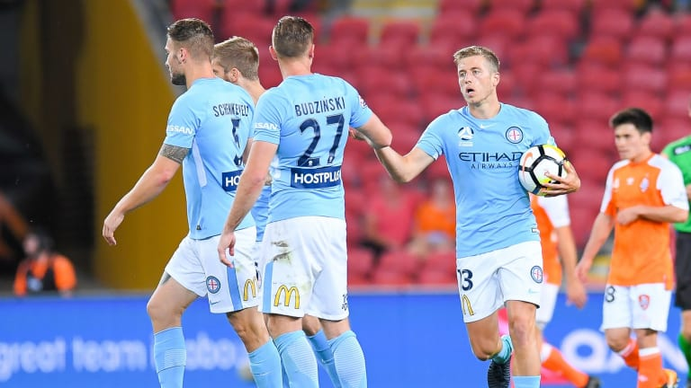 Midfielder Stefan Mauk got City back in the contest with a goal after the break.