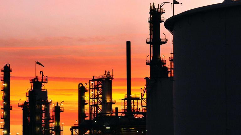 The Caltex Australia Lytton refinery.