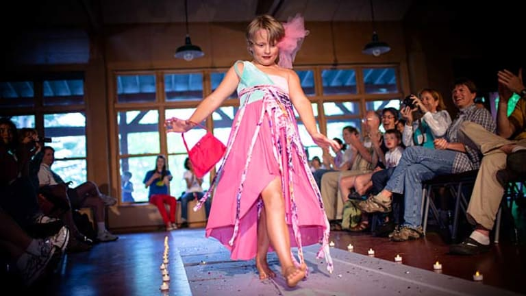 Expressing themselves: The talent and fashion shows are popular at You Are You.