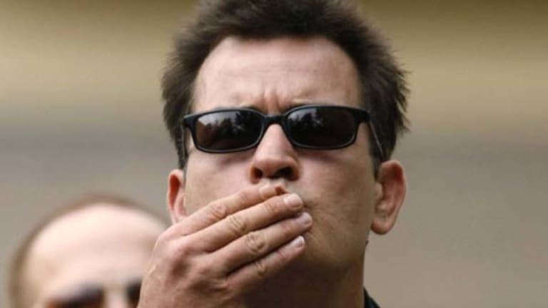 Sacked ... Charlie Sheen.