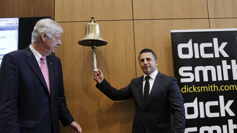 Former Dick Smith chairman Phil Cave and CEO Nick Abboud have been summonsed to appear in court for examination by Dick Smith's receivers.