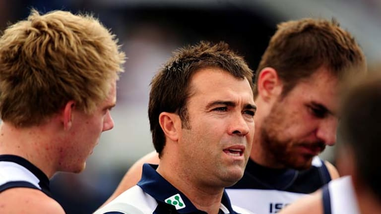 Chris Scott concedes that he has never been more concerned about his team's form.