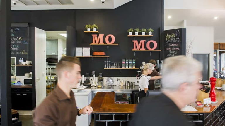 Cafe Momo is part of the morning routine for many federal public servants in Bruce.