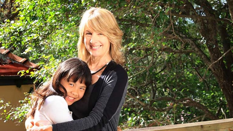 Program success: Karin Wentworth-Ping saw daughter Anxia's confidence increase.