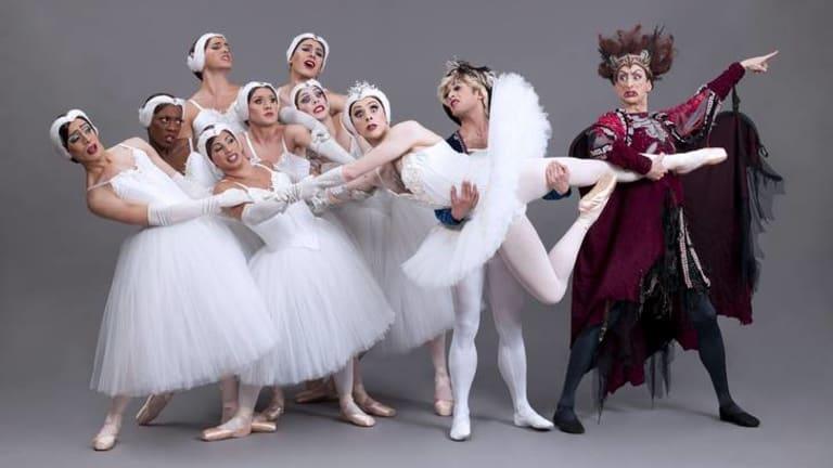 Dance troupe Les Ballets Trockadero de Monte Carlo.