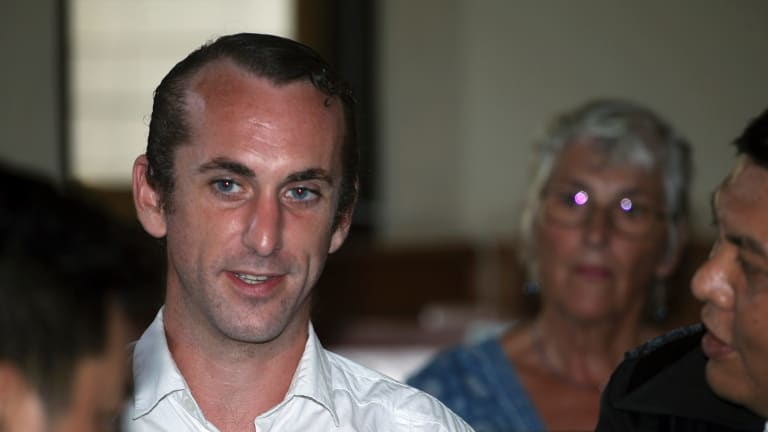 Co-accused: British national David Taylor.