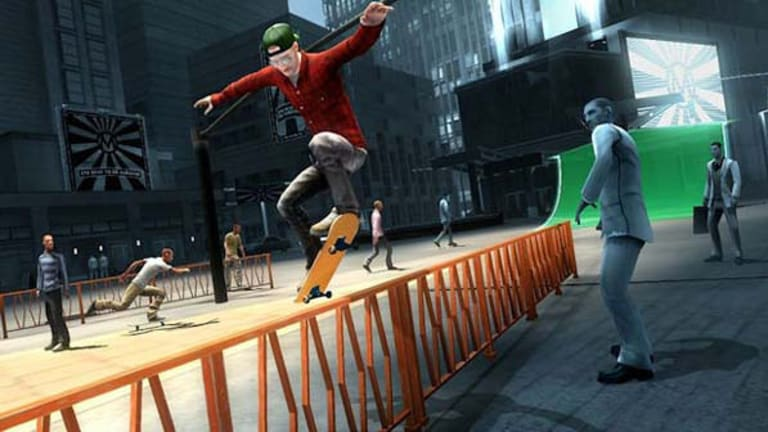 Aims for the goofy aspects of Tony Hawk without the originality that series was built on.