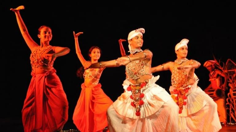 First-rate artists: Chitrasena Dance Company performs Abhiyog as part of Dancing for the Gods.