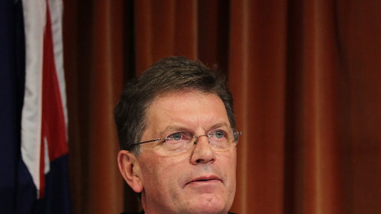Victoria Premier Ted Baillieu set to act.