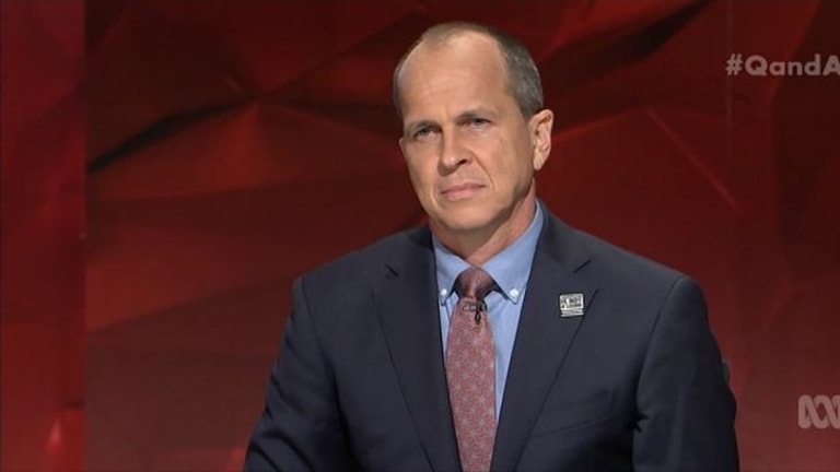'This is not a clash of civilisations' ... Journalist Peter Greste, who was locked up in an Egyptian prison for over 400 days for doing his job, said we are not at war with Muslims and warned against government scare tactics.