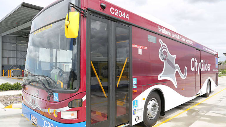 The new maroon CityGlider rolls into action on February 18.