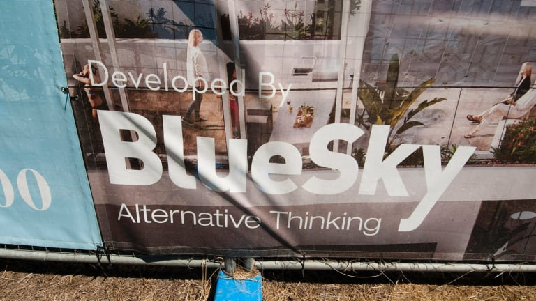 Blue Sky's market announcement will be issued on Tuesday.