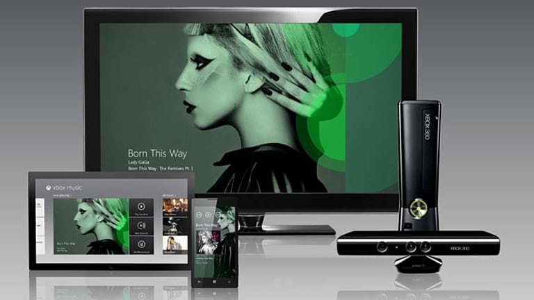 All-in-one ... Xbox music will be available across multiple devices.