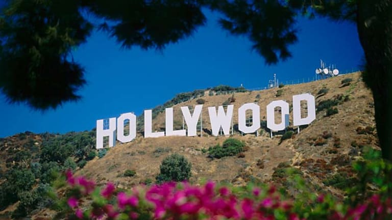 Iconic ... the Hollywood sign.