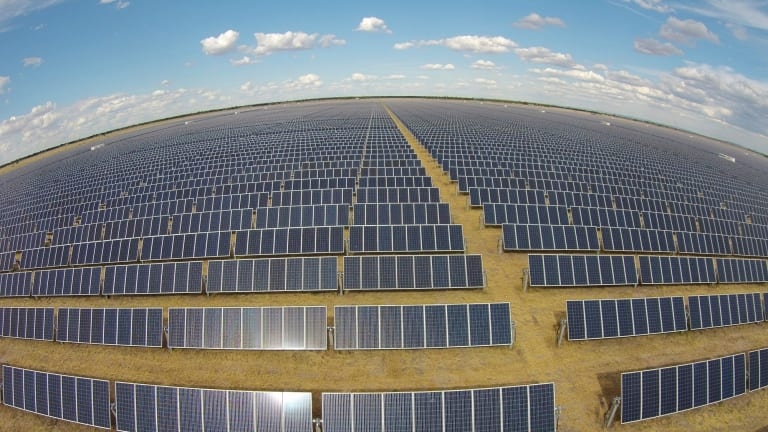 New era: Solar energy is now the fastest-growing power source.