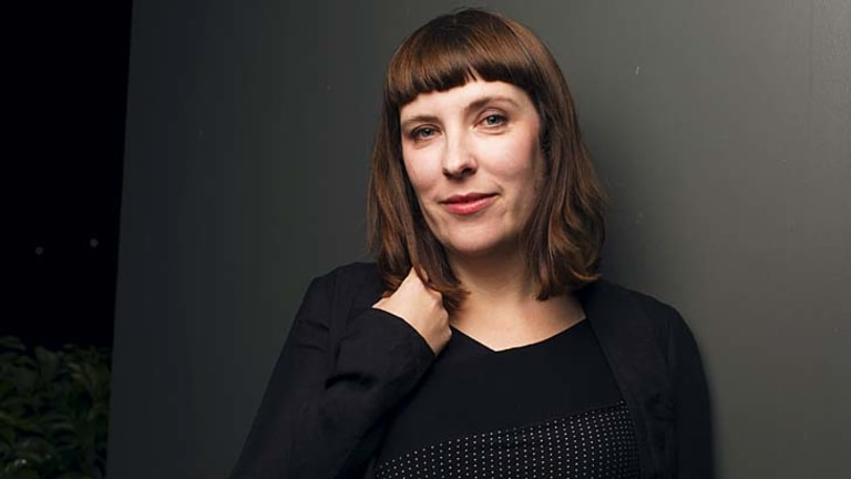 Evie Wyld, winner of this years Miles Franklin literary award.
