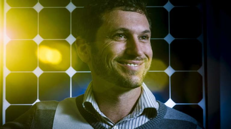 Armada Solar's Justin Ryan.
