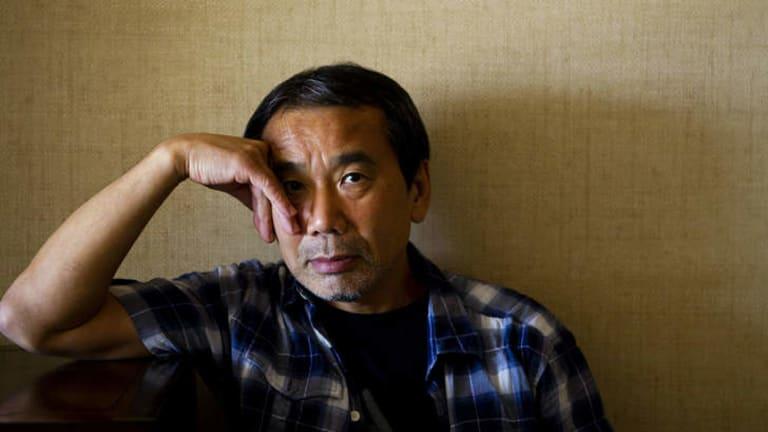 Japanese writer Haruki Murukami.