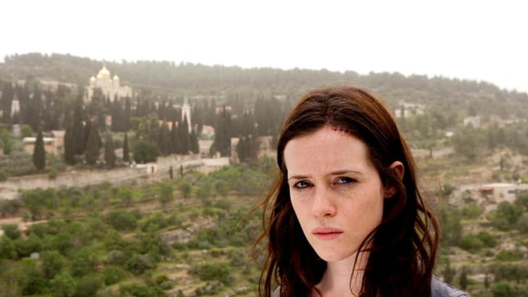 Claire Foy as Erin Matthews.
