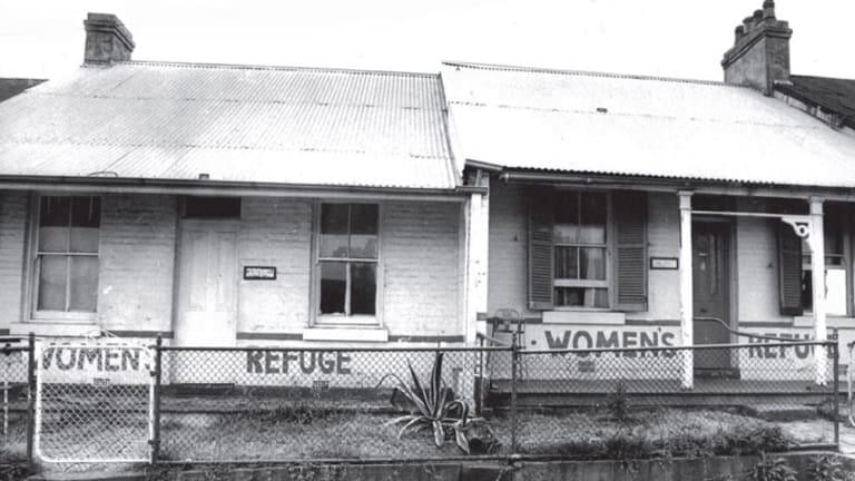 Safe haven: Elsie, Australia's first women's refuge, in the mid 1970s.