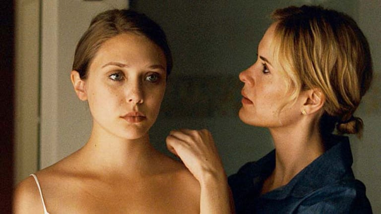 The last acting Olsen ... Elizabeth Olsen and Sarah Paulson in <i>Martha Marcy May Marlene</i>.