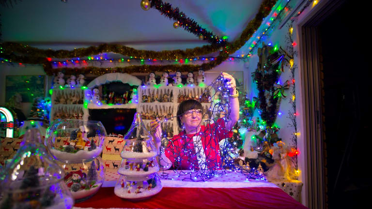 Christmas lights bring cheer to Melbourne streets as ...