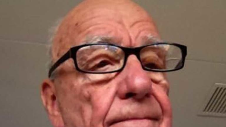 """""""Either @rupertmurdoch is genuinely now on Twitter, or some disgruntled ex-NOTW journo just won the hacking Olympics."""""""