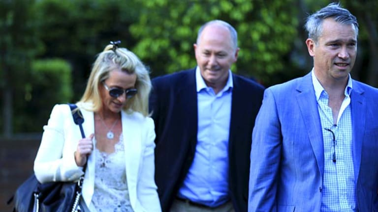 Media heavyweights: From left; News Ltd columnist Janet Albrechtsen, The Australian's Chris Kenny, and The Spectator's Tom Switzer.