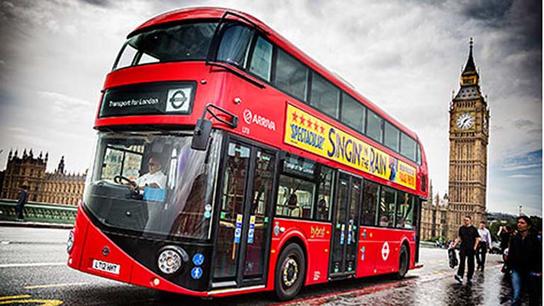 A Redland family's company has signed a contract to purchase 20 bus routes in London.