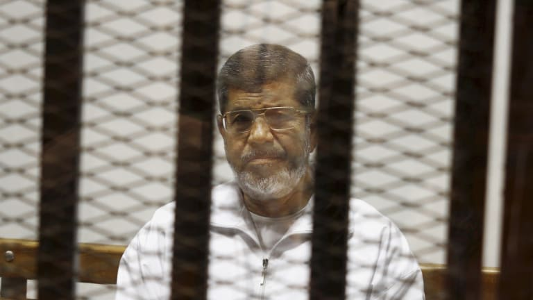 Two journalists have been sentenced to death for leaking secret state documents to Qatar in a case involving deposed president Mohamed Morsi.
