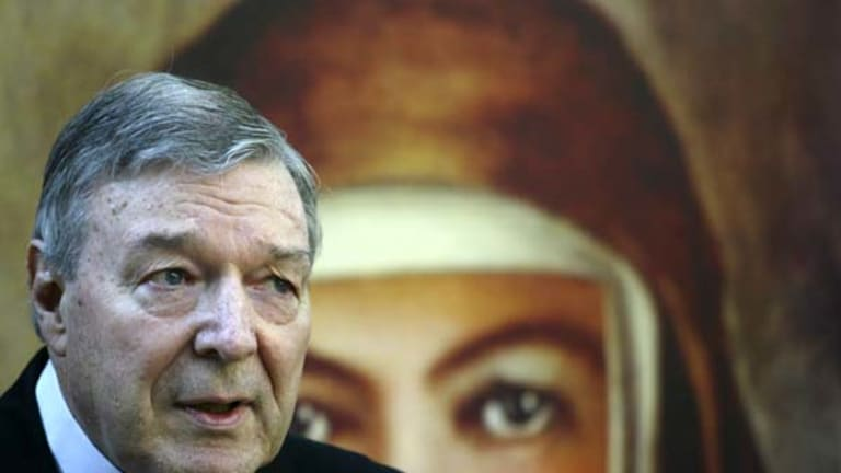 """Cardinal Pell ... """"an evil which has no place in the church""""."""