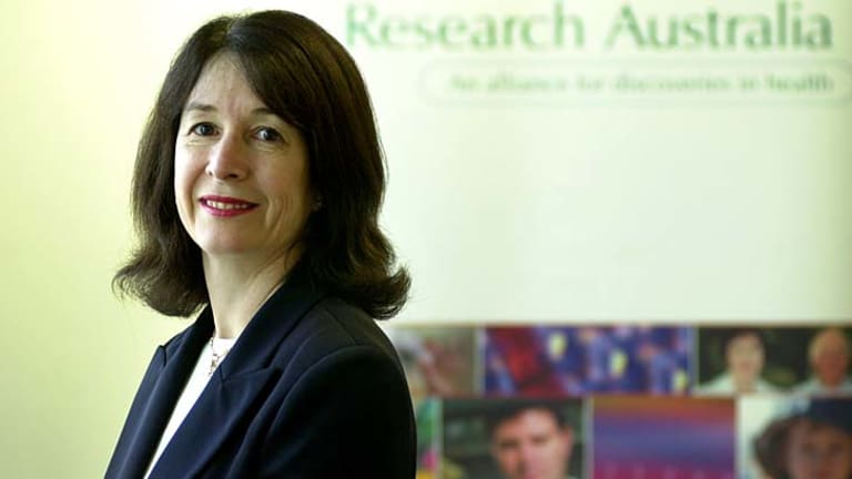 Slow progress in the fight against obesity and depression ... Dr Christine Bennett, CEO of Research Australia.