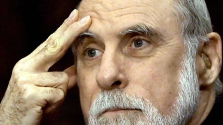 Wow, what a title...Google's vice-president and chief internet evangelist Vinton Cerf.