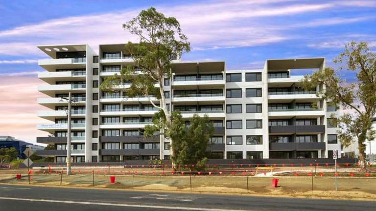 The Sorell Apartments, built on the former Burnie Court site, are now completed.