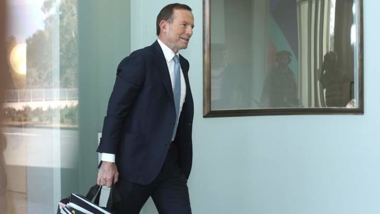 Prime Minister elect Tony Abbott arrives in Canberra.